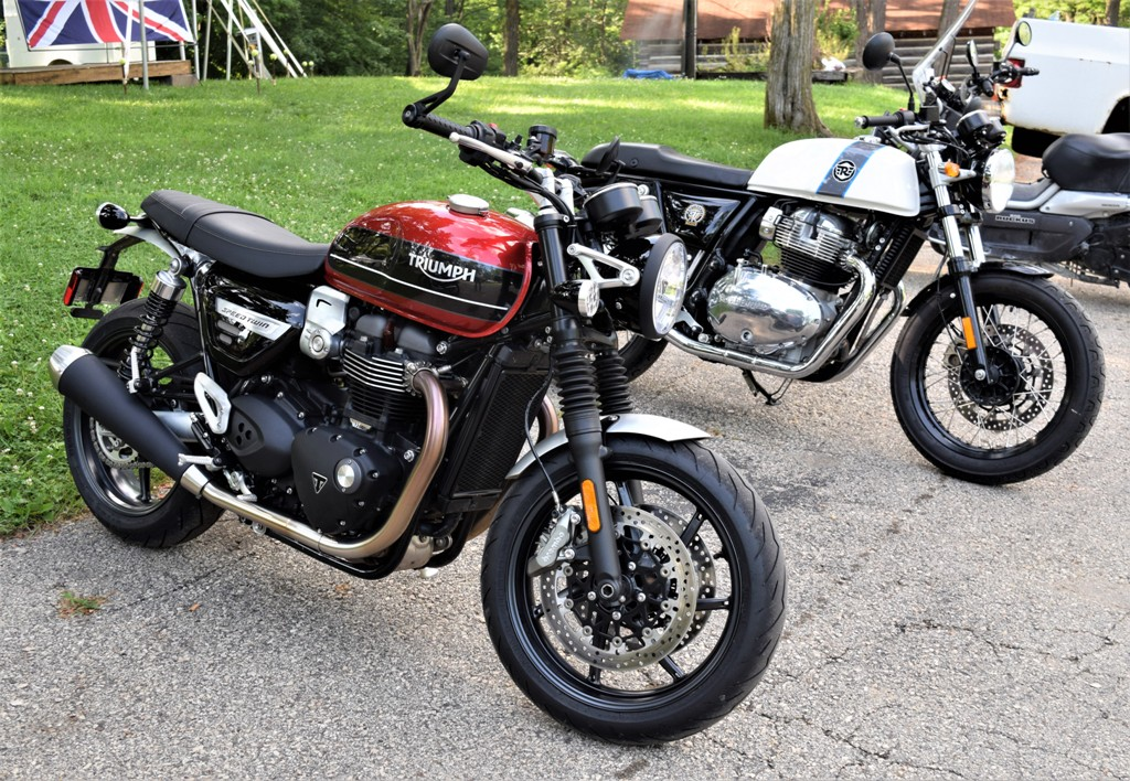 BBC Rally lates iron from Triumph RE