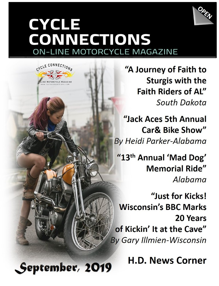 Cycle Connections September Cover
