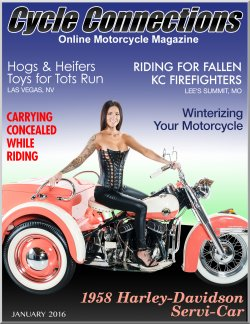 1958 Harley-Davidson Servi-Car & Cover Model Brittany