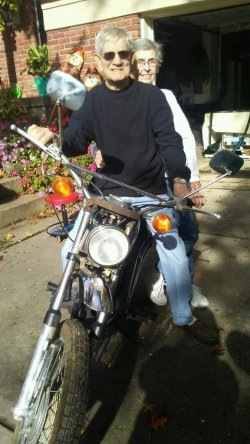 In Memory of Matt and His 1973 AMF Harley-Davidson TX-125