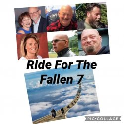 "Ride For The Fallen 7- ""Jarheads"" Ed ""Taz"" Corr, Jo-Ann Corr, Michael ""Fritz"" Ferazzi, Albert ""Woody"" Mazza, Desma Oaks, Daniel ""Danny Boy"" Pereira, Aaron ""Stitches"" Perry"