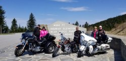 Ride to 2018 Thunder in the Smokies Motorcycle Rally                             By: Donna & David Leemon- Argo, Alabama
