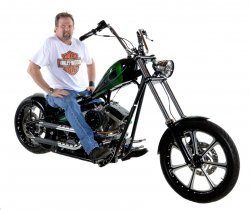 Andrew Lamming & His 2014 Custom Chopper