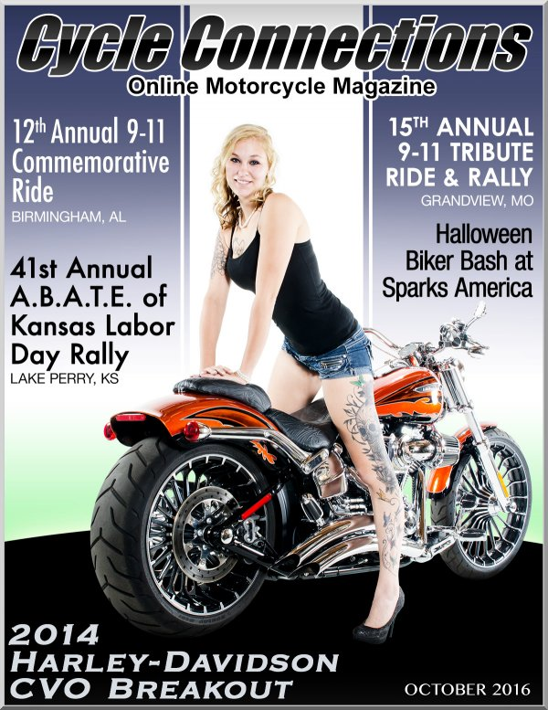 2014 Harley-Davidson CVO Breakout and Cover Model Hailey