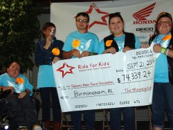 2014 Ride for Kids - Birmingham, Alabama