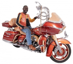 Toney Hollinger & His 2011 Harley-Davidson Road Glide Ultra
