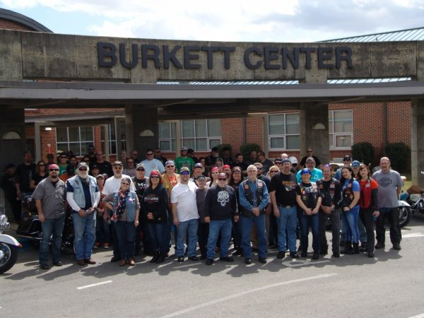 10th Annual Burkett Center Ride
