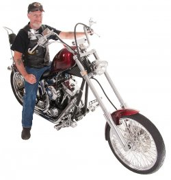 Bill Rothery & His 2003 Panzer Chopper