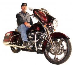 Ted Haase & His 2008 Harley-Davidson Street Glide
