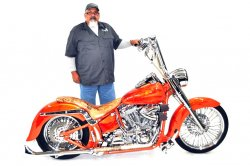 Mitch Caponetto & His 2001 Harley-Davidson Softail Standard