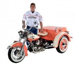 Mark Kozak & His 1958 Harley-Davidson Servi-Car