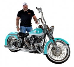 Ronnie Coffelt & His 2010 Harley-Davidson Heritage Softail