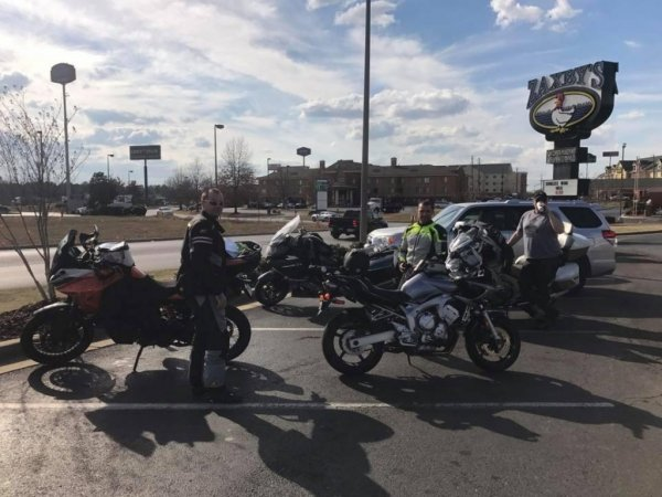 "2018-Tuesday Bike Night's @ Zaxby's in Pell City, Alabama With the ""Faith Rider's"""